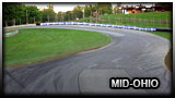 A pálya neve: Mid-Ohio No Chicane